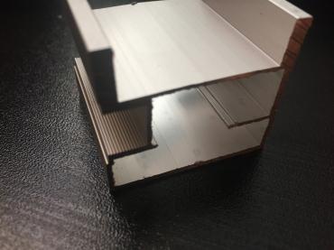 Ручка квадратная Е анод матовый 5400мм.