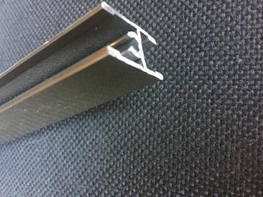 Импост с винтом анод полированный 5900 мм.