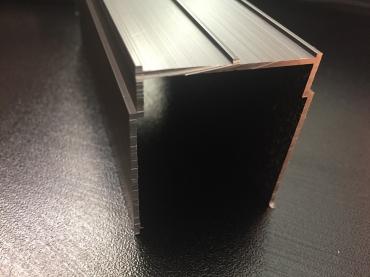 Верхняя направляющая одинарная анод матовый 5900мм.