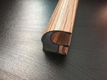 Ручка закрытая С асимметрия В ПВХ пленке 5400 мм.