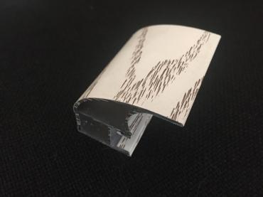 Ручка закрытая С асимметрия удлиненная в ПВХ пленке 5400 мм.
