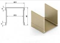 Верхняя направляющая одинарная анод крашенный 5900мм.